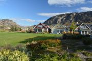 Exterior image of the Cottages on Osoyoos Lake in Oliver, BC