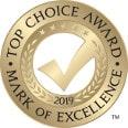 2019 Top Choice Award logo
