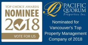 Vote for PQ as Vancouver's Top Property Management Company in 2018