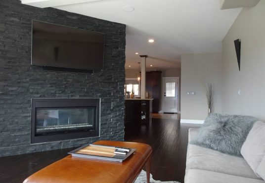 3 bedroom, 2.5 bathroom Luxury Home Rental with Smart Home Capabilities located in Black Mountain are of Kelowna, BC.