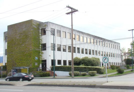 Exterior of Commercial Building located at 460 Nanaimo St. in Vancouver