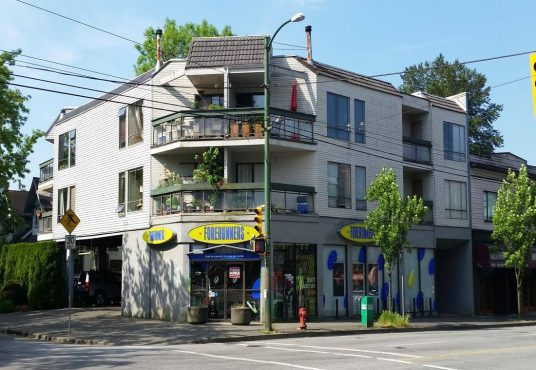 1 Bedroom + 1 Bath Apartment Rental located at 3506 West 4th Ave Vancouver.